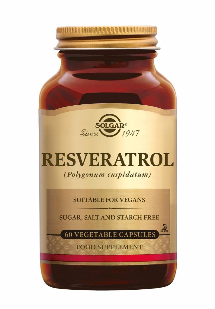Resveratrol 60 plantaardige capsules-1