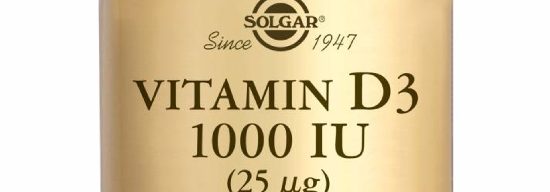 Vitamin D-3 1000 IU/25 µg 250 softgels