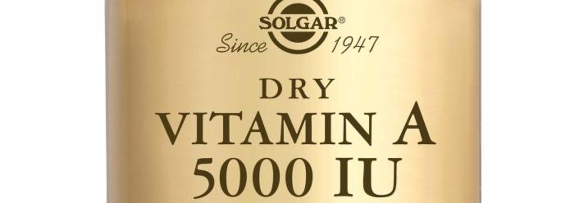 Vitamin A 5000 IU (1502 µg) 100 tabletten