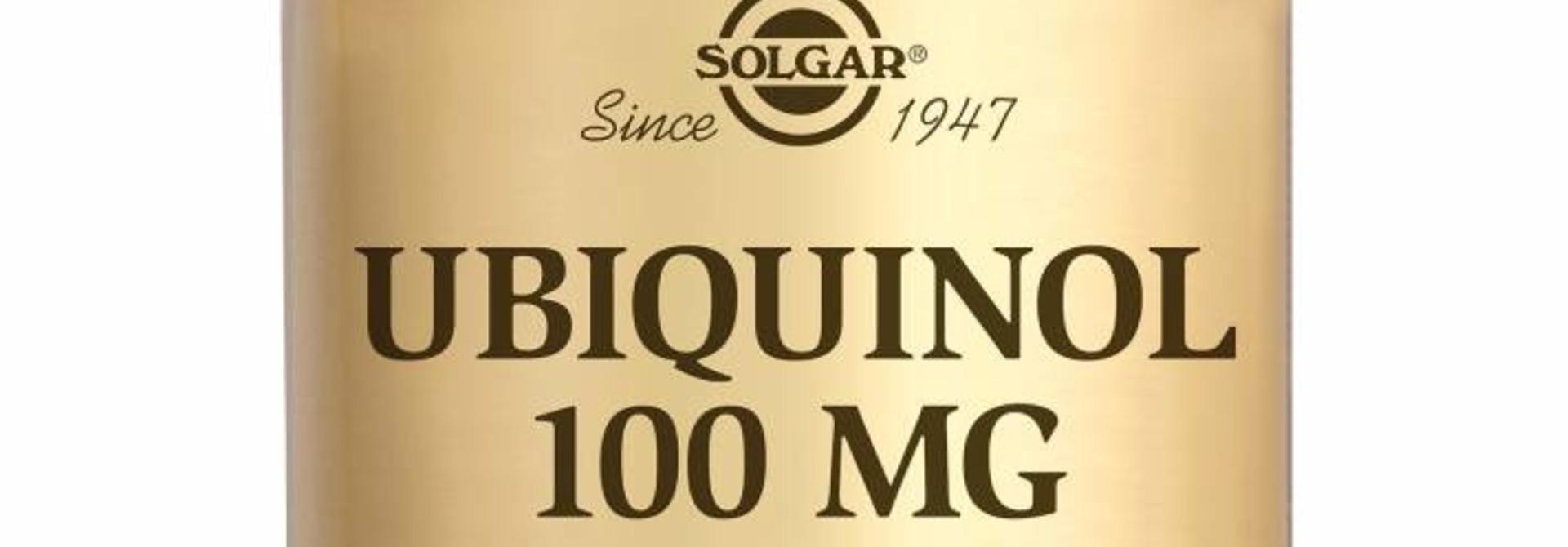Ubiquinol 100 mg 50 softgels