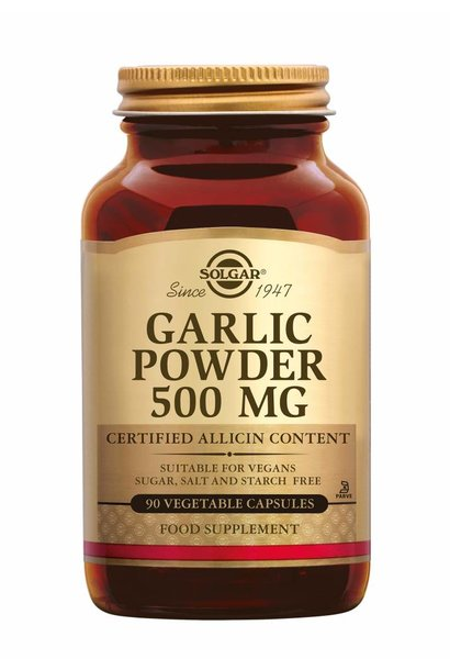Garlic Powder 500 mg 90 plantaardige capsules
