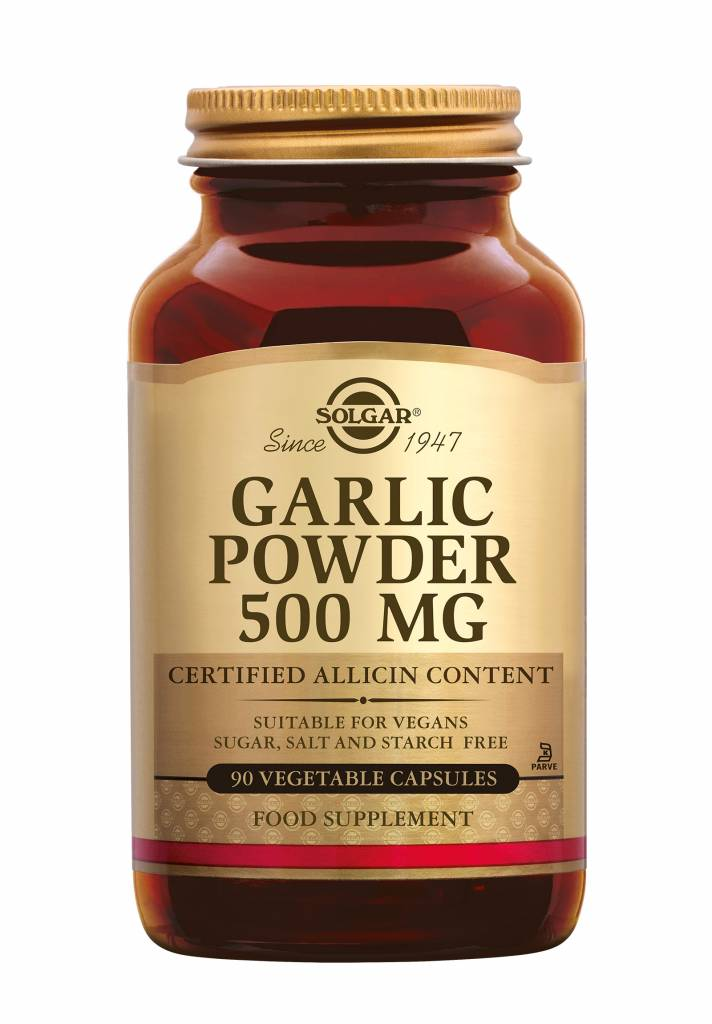 Garlic Powder 500 mg 90 plantaardige capsules-1