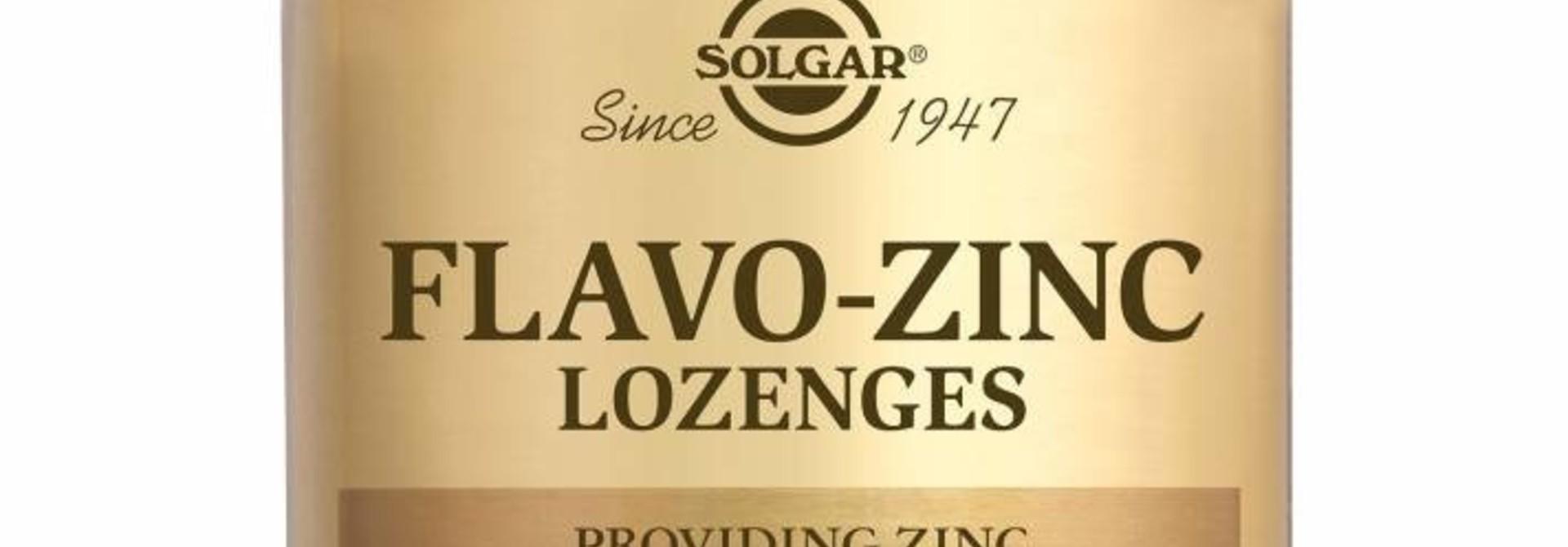 Product van de maand: Solgar Flavo Zinc Lozenges