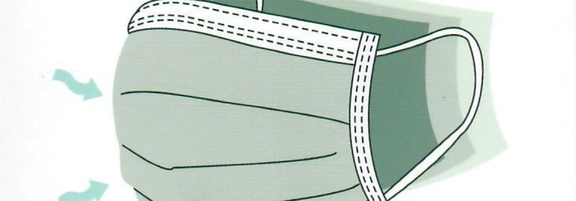 Wegwerp mondkapjes -  10 stuks