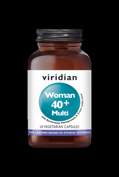 Woman 40+ Multivitamin 60 plantaardige capsules