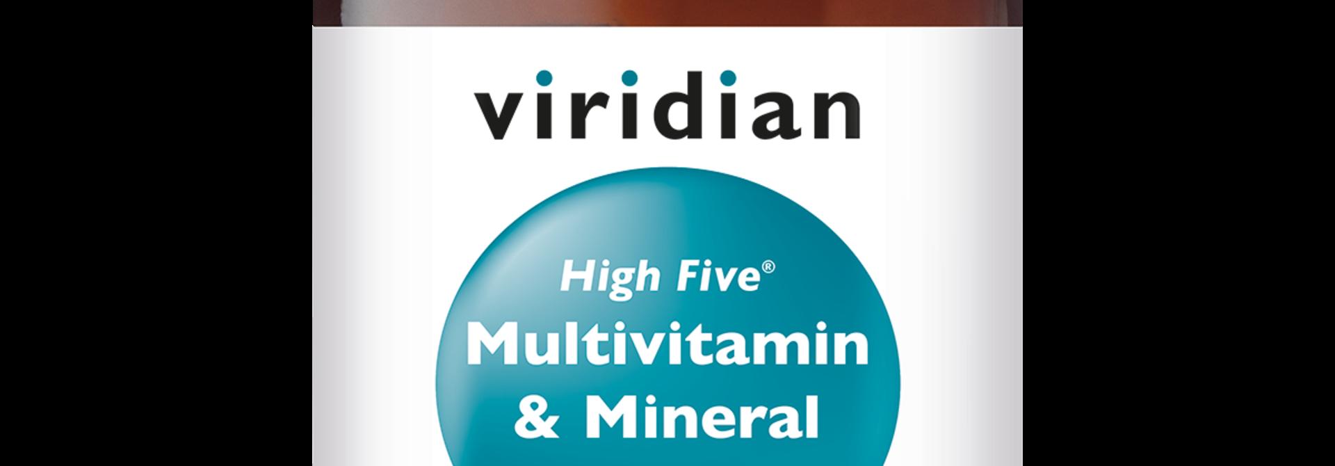 HIGH FIVE® Multivitamin Mineral Formula 30 plantaardige capsules