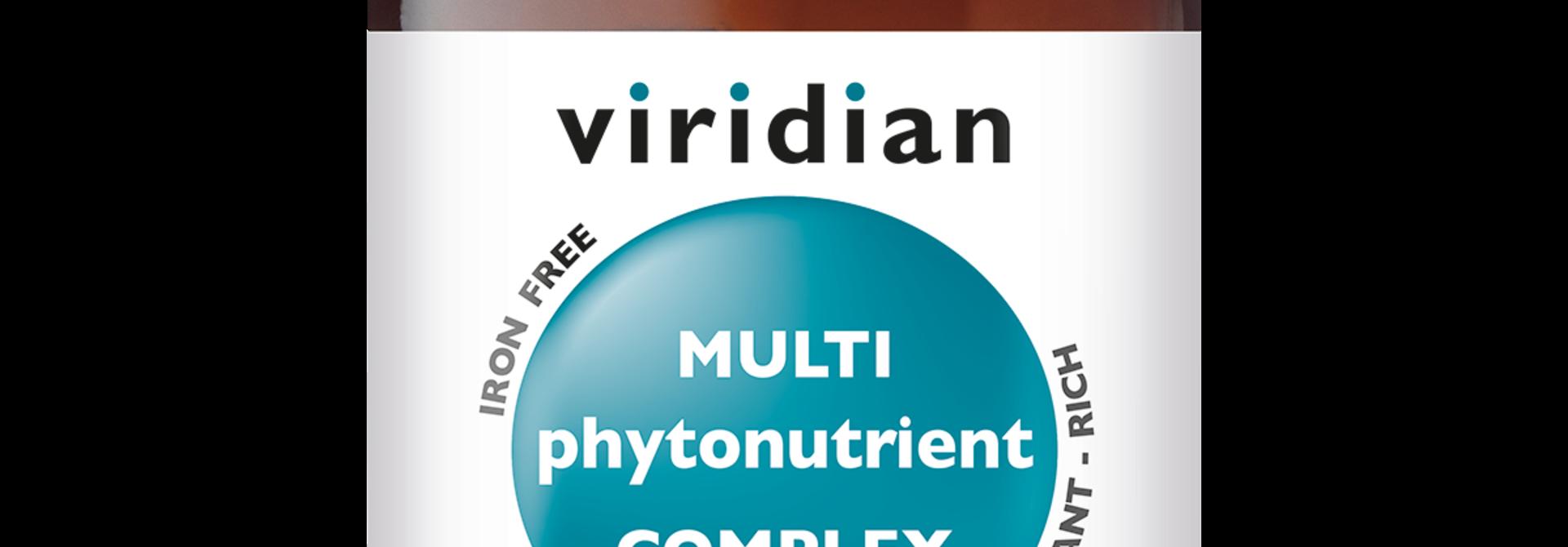 Multi PhytoNutrient 60 plantaardige capsules