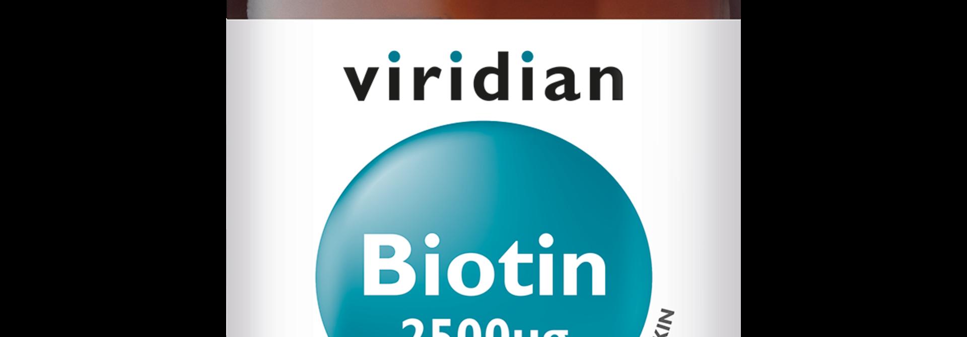 Biotin 2500 mcg 90 plantaardige capsules