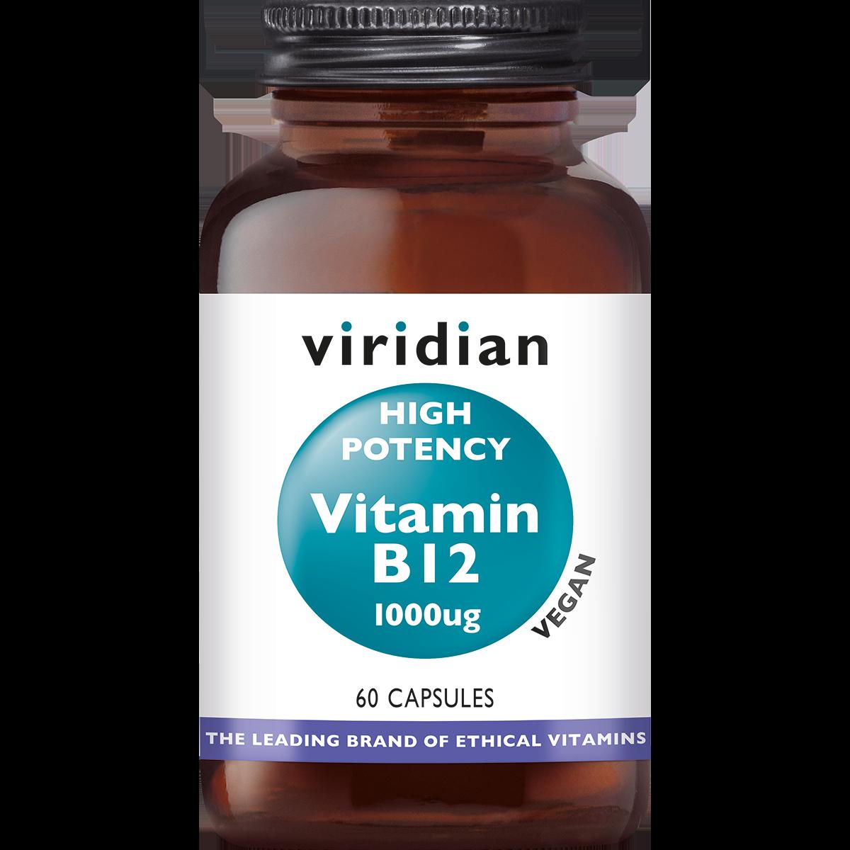Vitamin B12 1000 mcg 60 plantaardige capsules-1