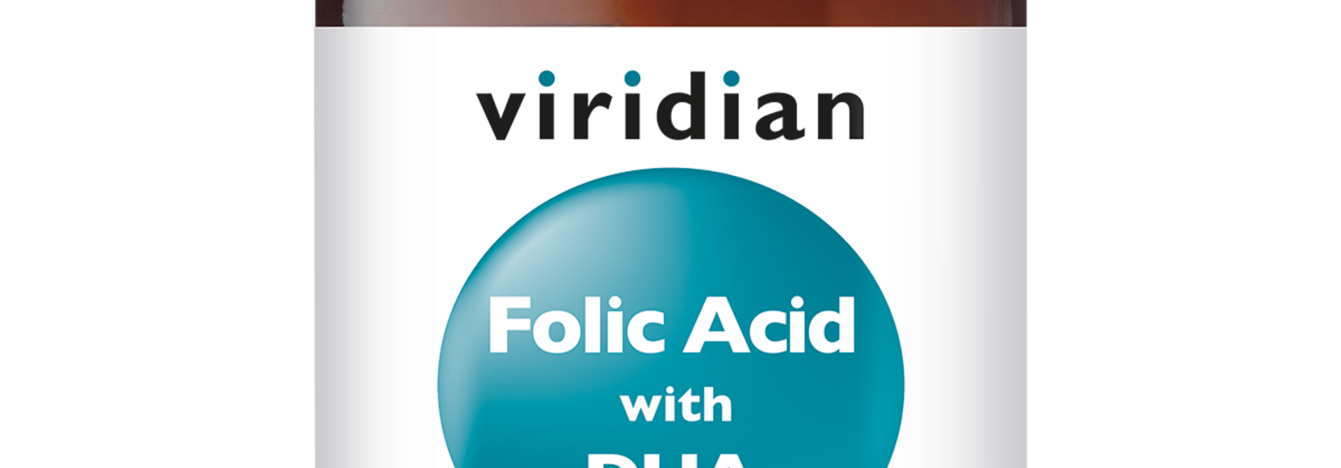 Folic Acid with DHA 90 plantaardige capsules