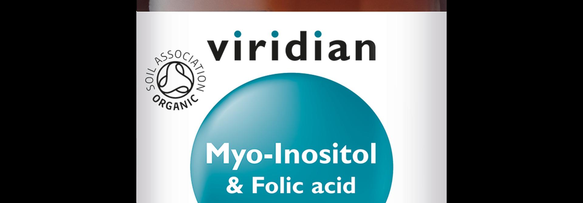 Myo-Inositol and Folic Acid 120 poeder