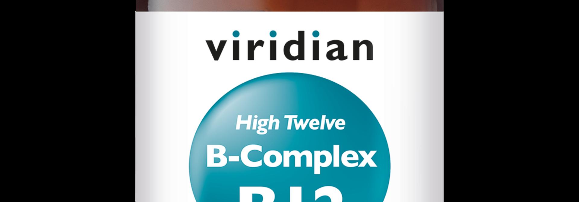 HIGH TWELVE™ Vitamin B-Complex 30 plantaardige capsules