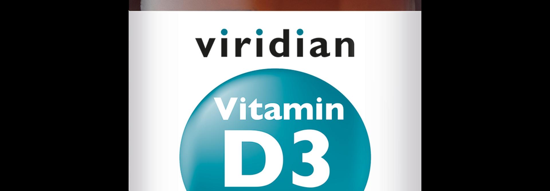 Vitamin D3 (Vegan) 400 IU (10 mcg) 30 plantaardige capsules
