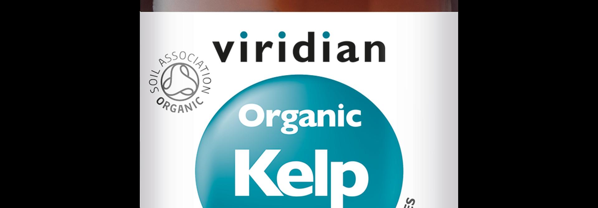 Organic Kelp 90 plantaardige capsules