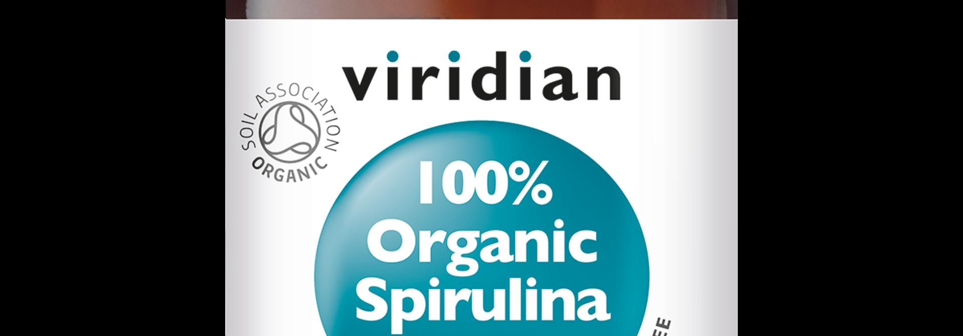 Organic Spirulina 500 mg 60 tabletten