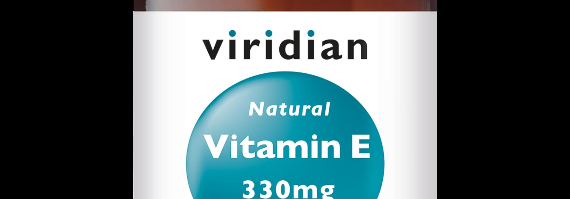 Natural Vitamin E 400 IU 30 plantaardige capsules
