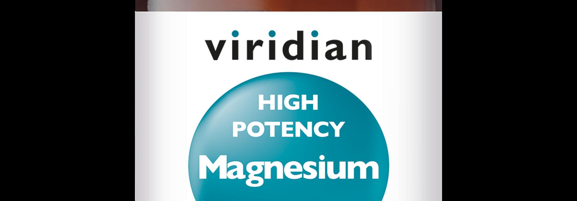 High Potency Magnesium 300 mg 120 plantaardige capsules