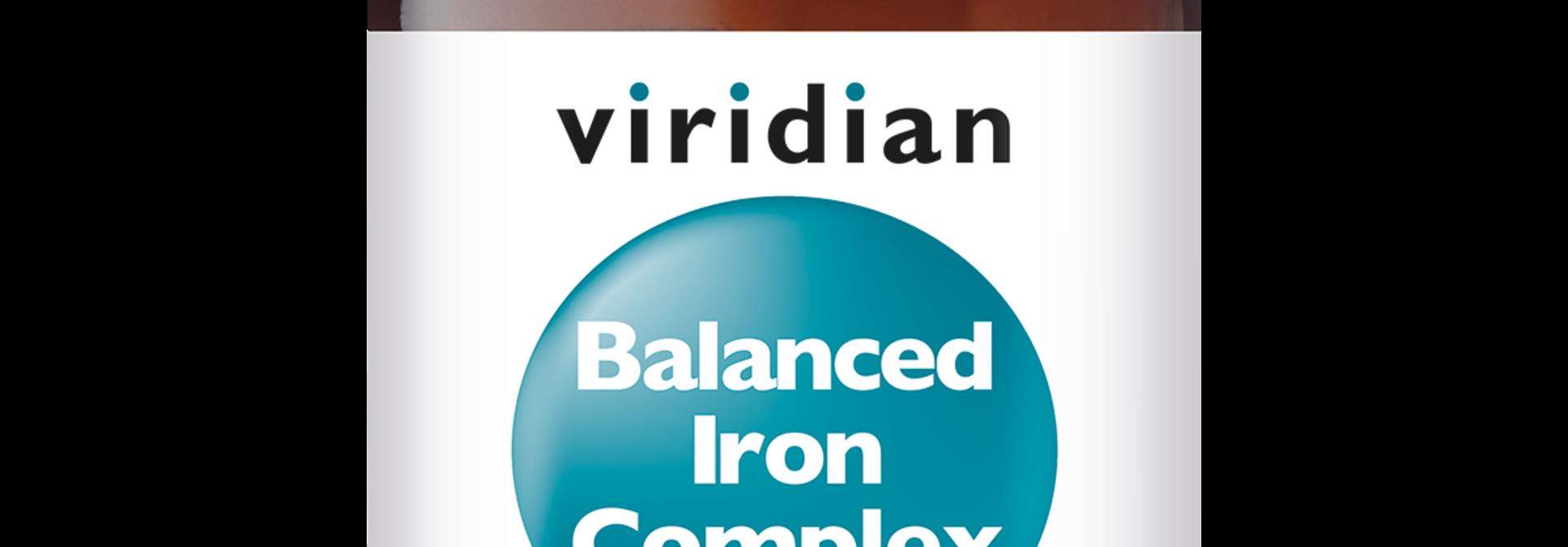 Balanced Iron Complex 30 plantaardige capsules