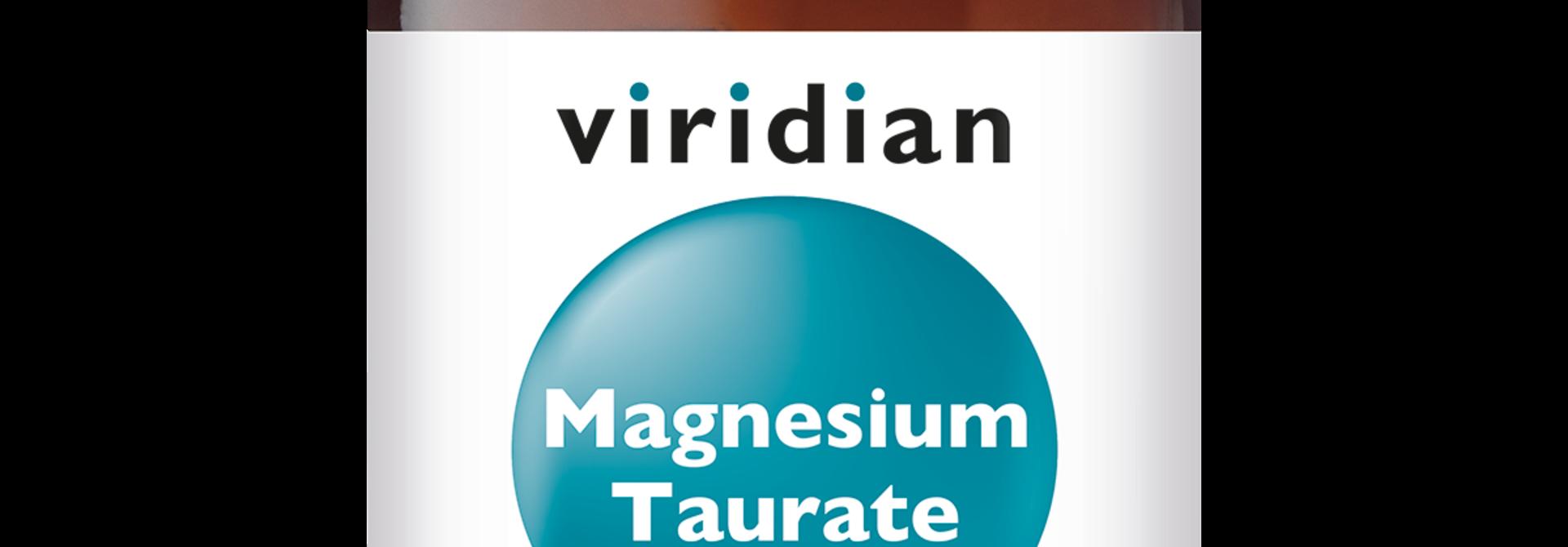 Magnesium Taurate 90 plantaardige capsules
