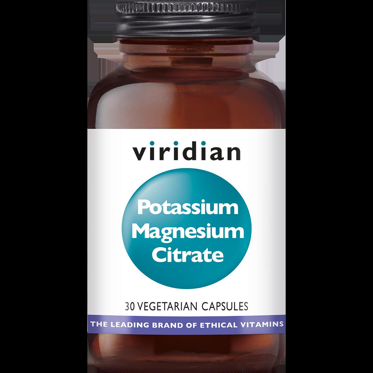 Potassium Magnesium Citrate 30 plantaardige capsules-1