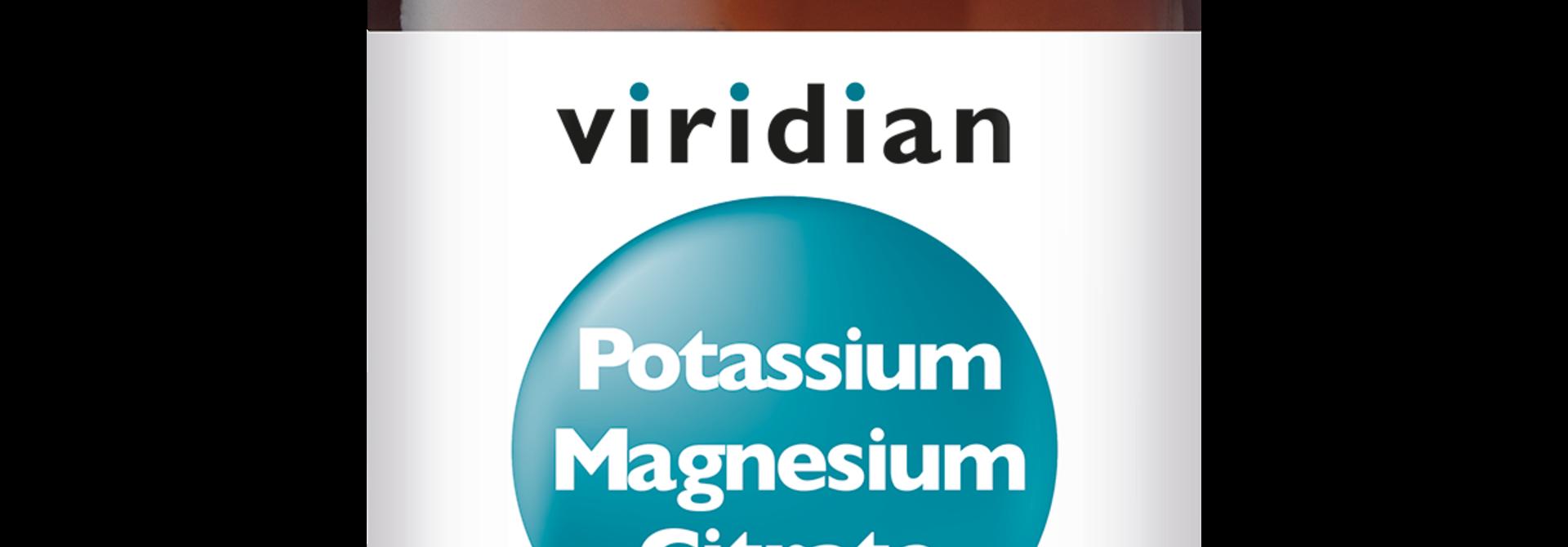 Potassium Magnesium Citrate 90 plantaardige capsules