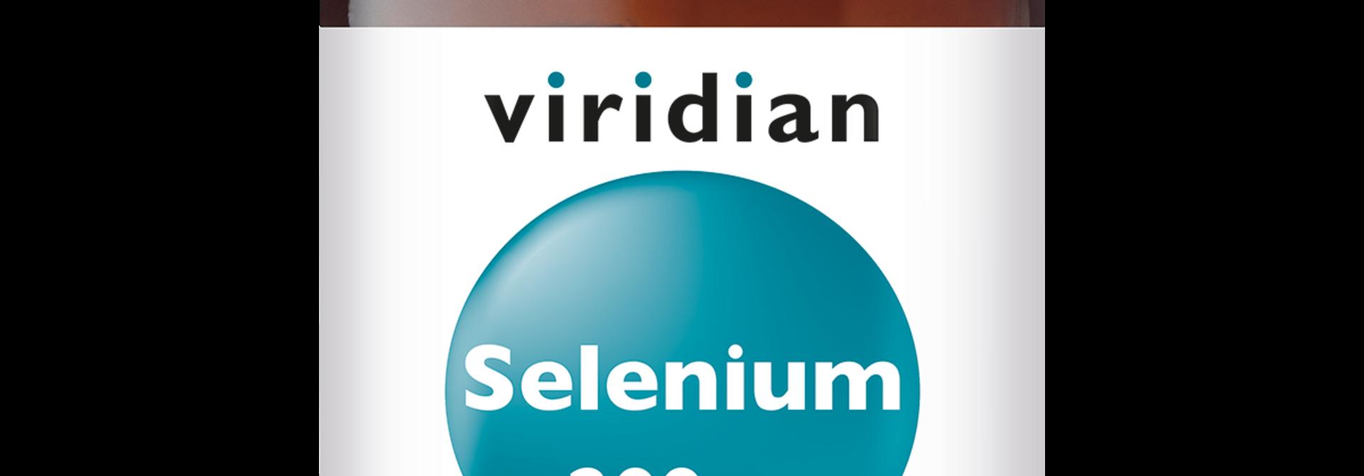 Selenium 200 mcg 30 plantaardige capsules