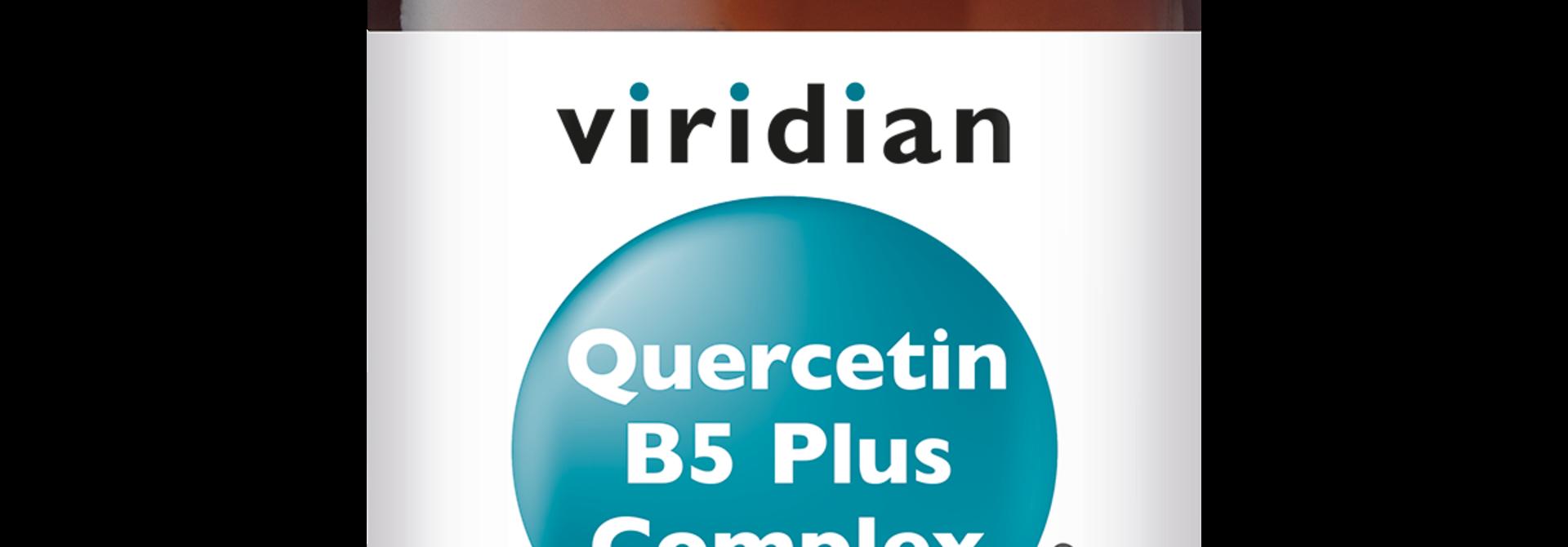 Quercetin B5 Plus Complex 60 plantaardige capsules