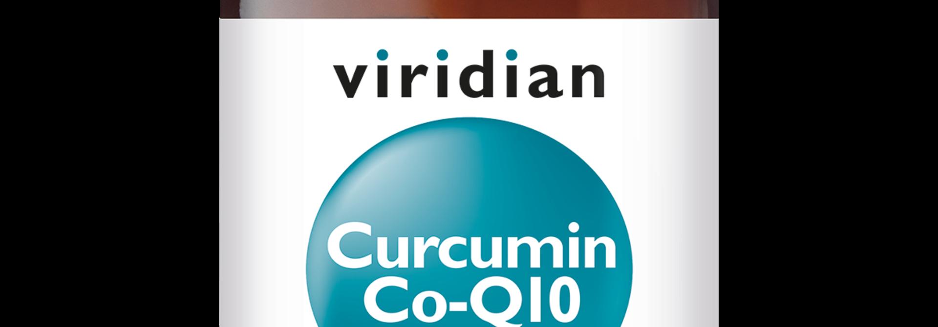 Curcumin Co-Q10 60 plantaardige capsules