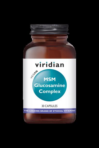MSM Glucosamine Complex 90 plantaardige capsules