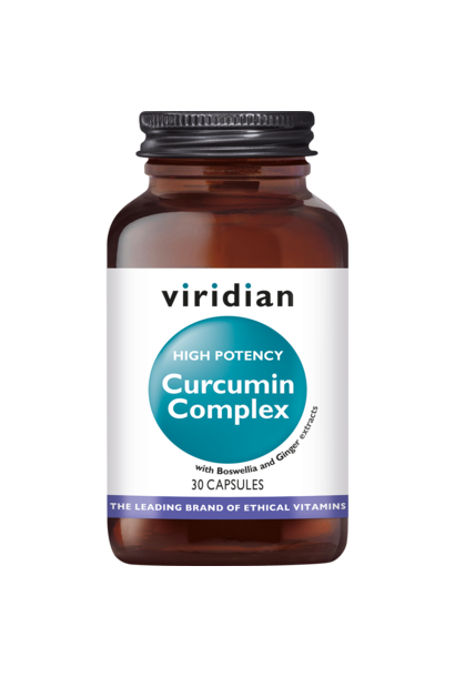 High Potency Curcumin Complex 30 plantaardige capsules