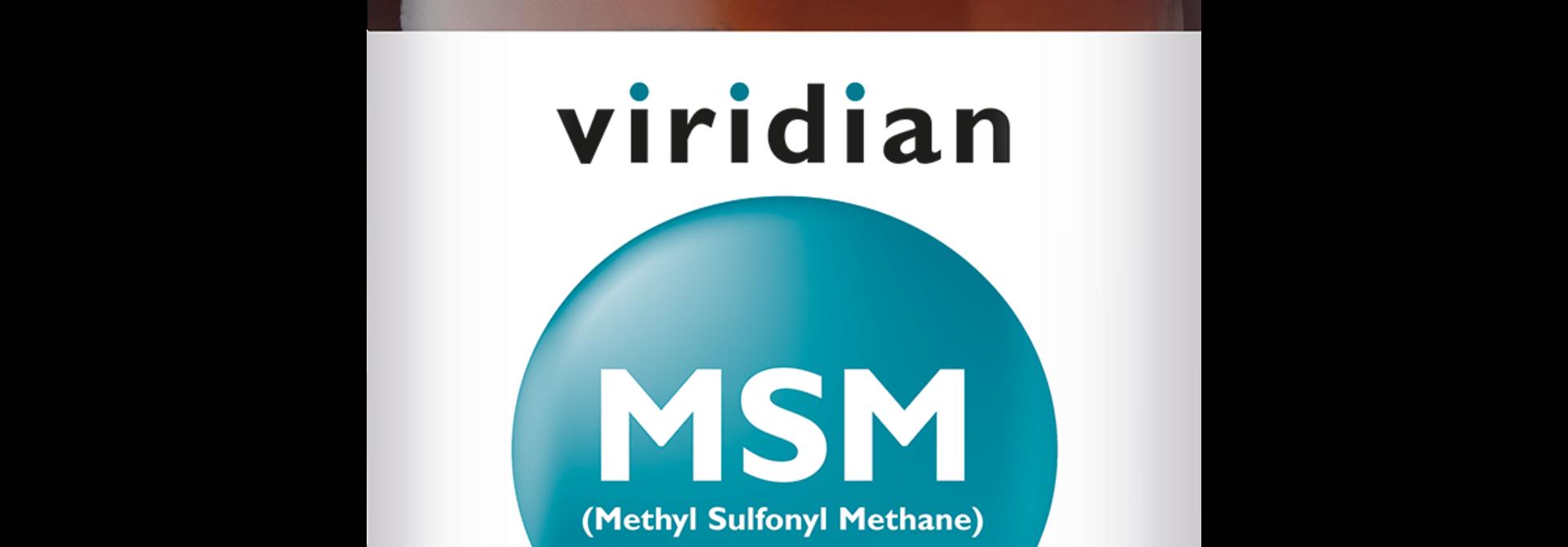MSM 90 plantaardige capsules