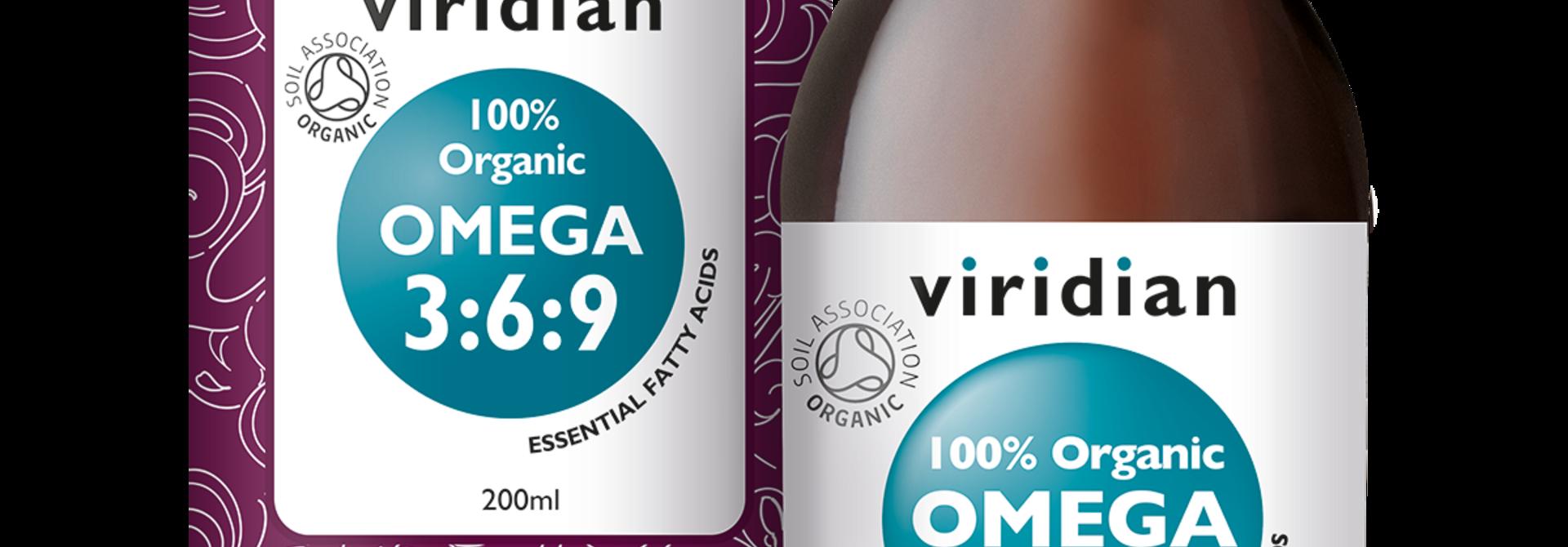 Organic Omega 3:6:9 200 olie
