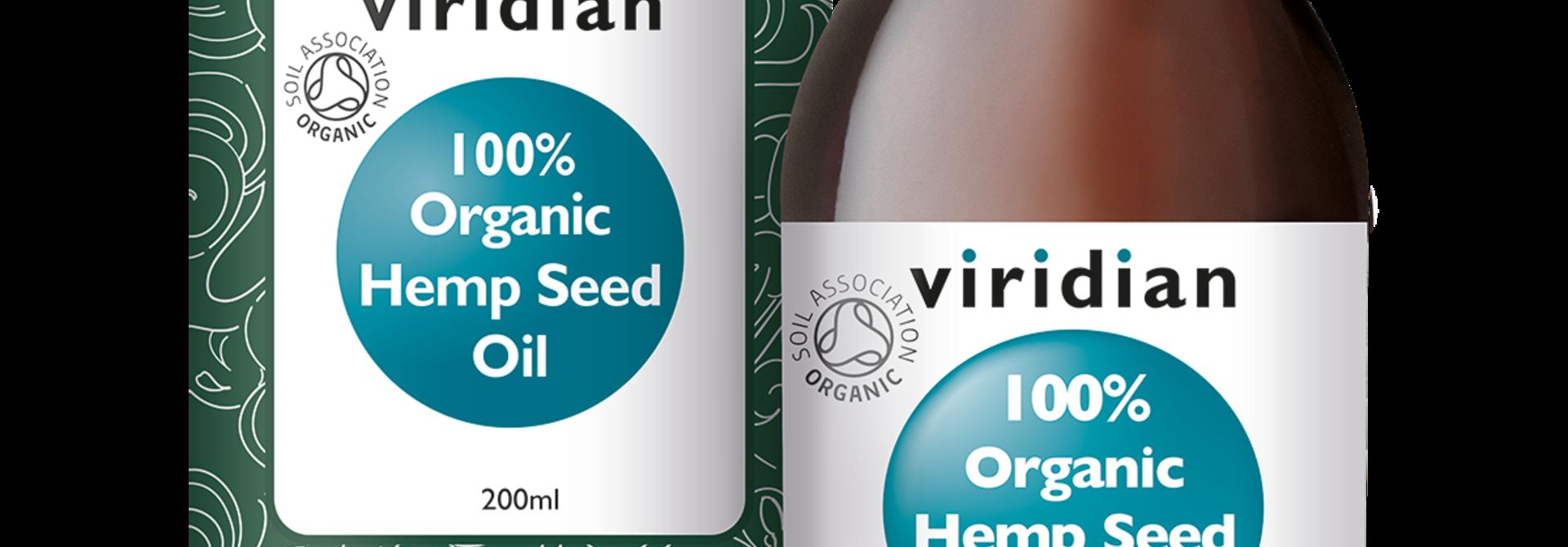 Organic Hemp Seed Oil 200 olie