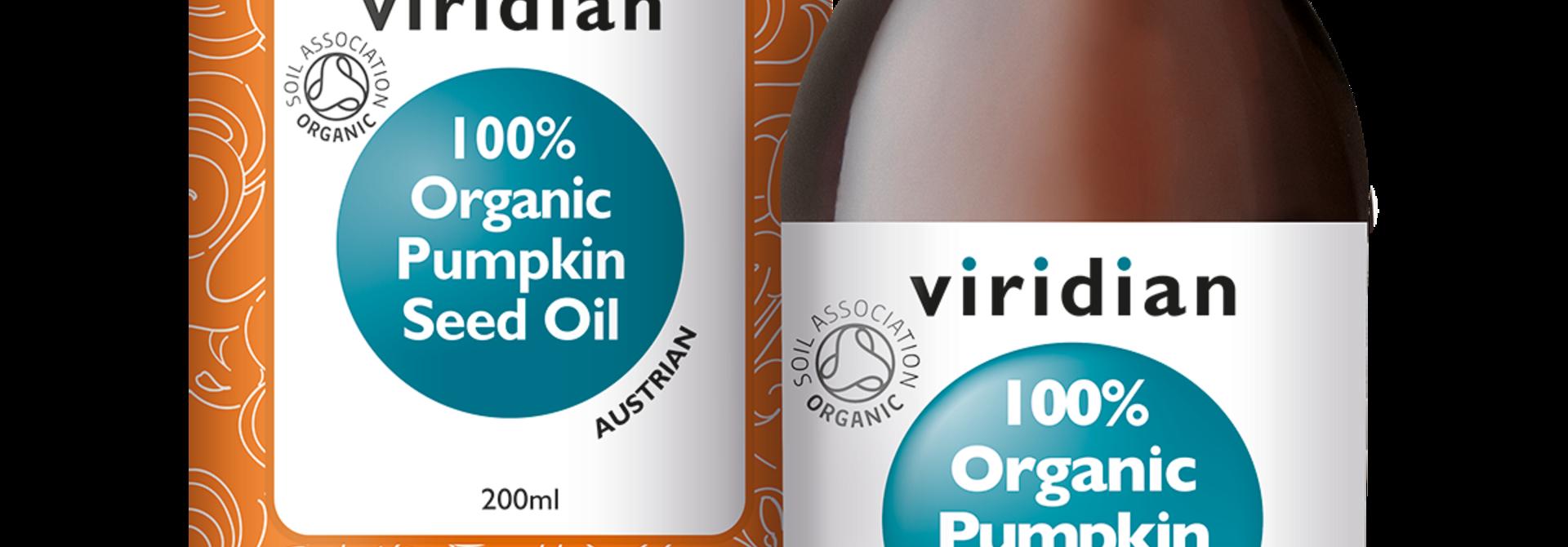 Organic Pumpkin Seed Oil 200 olie