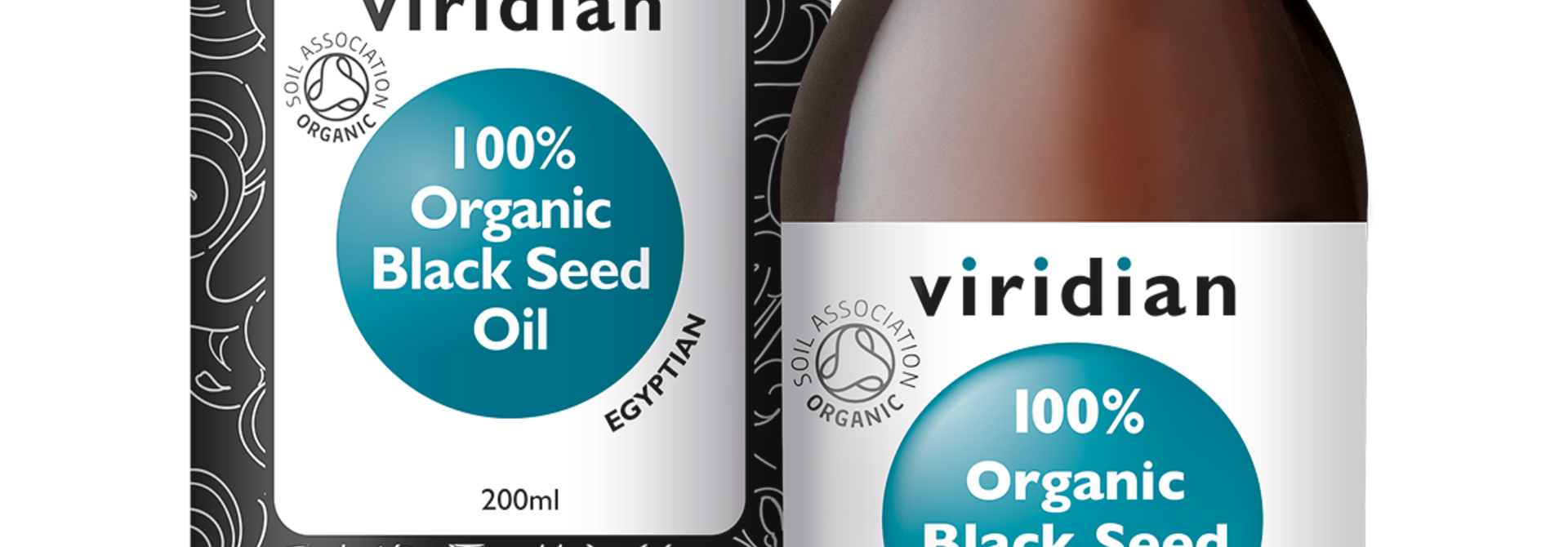 Organic Black Seed Oil 200 olie