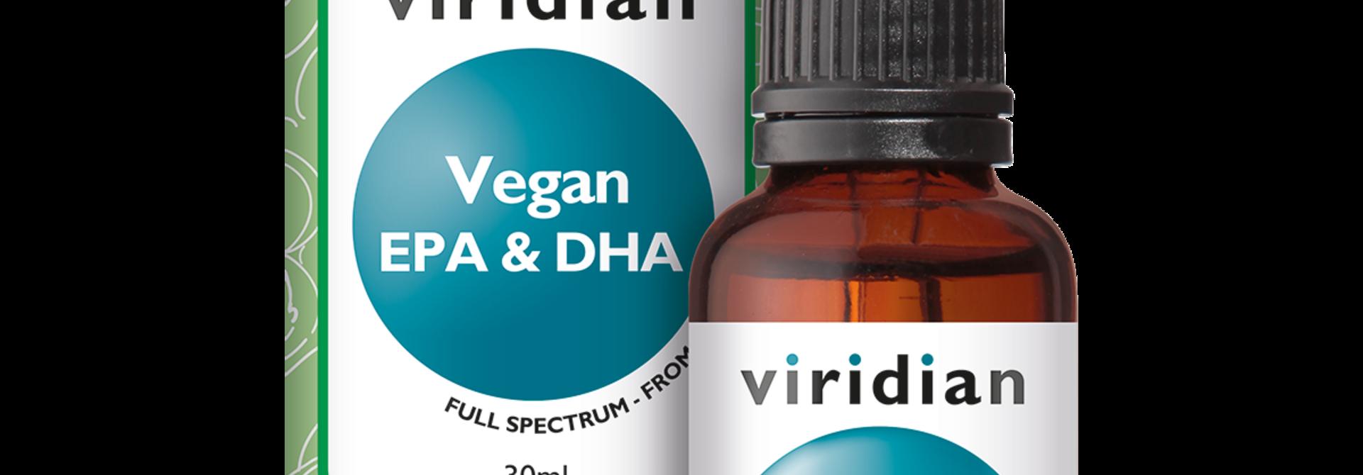 Vegan EPA & DHA 30 olie