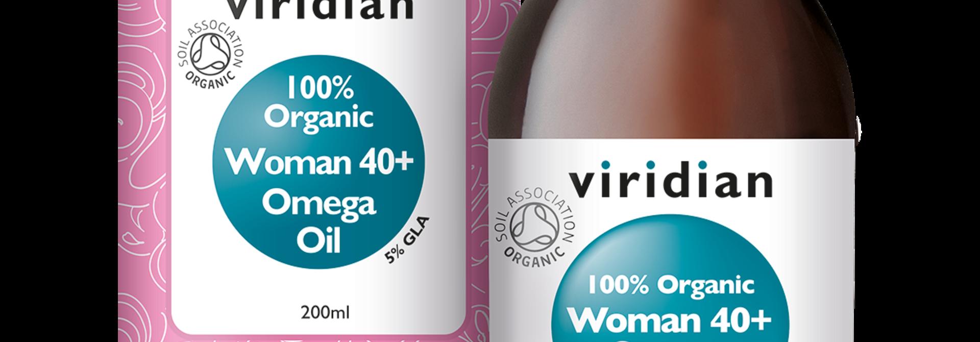 Organic Woman 40+ Omega Oil 200 olie