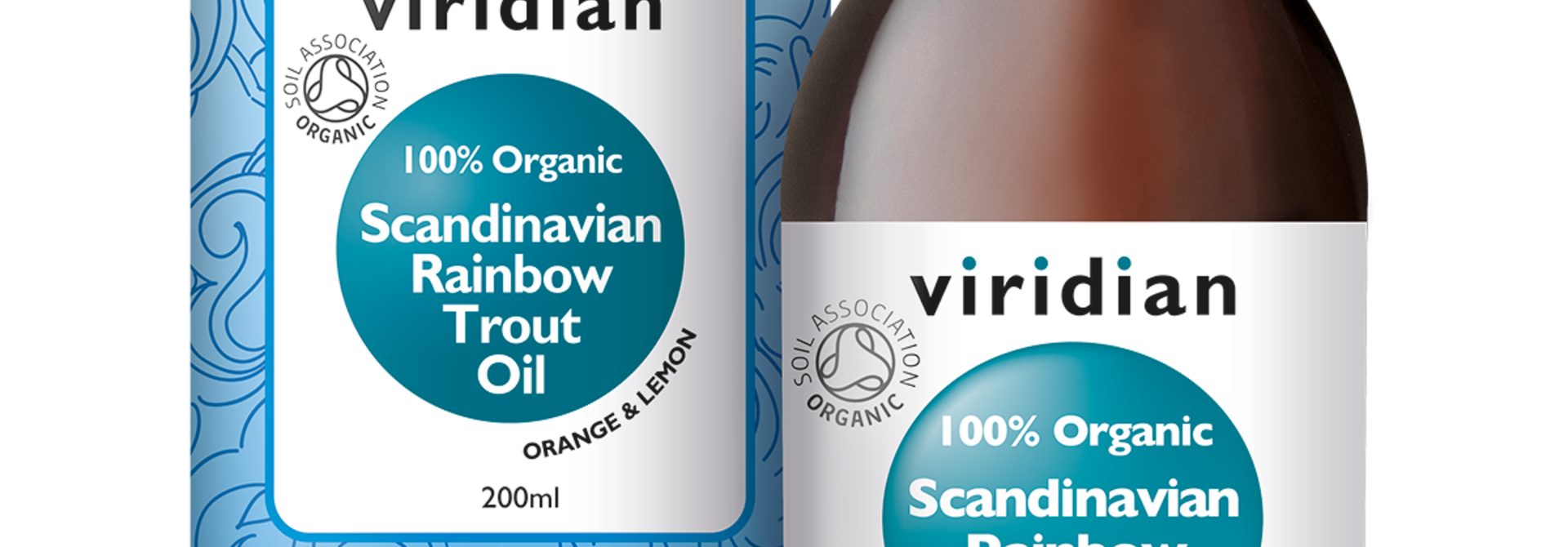 Organic Scandinavian Rainbow Trout Oil 200 olie