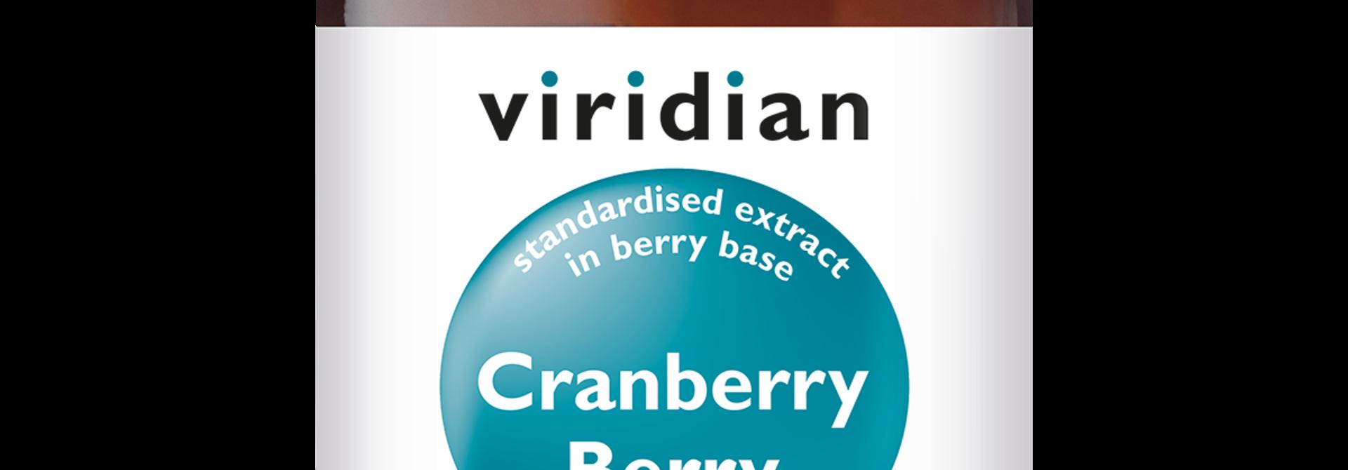 Cranberry Berry Extract 30 plantaardige capsules