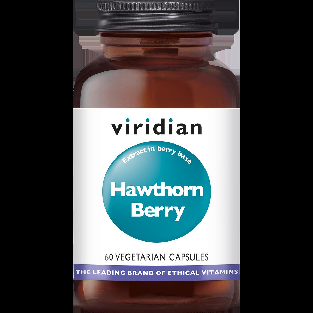 Hawthorn Berry Extract 60 plantaardige capsules-1