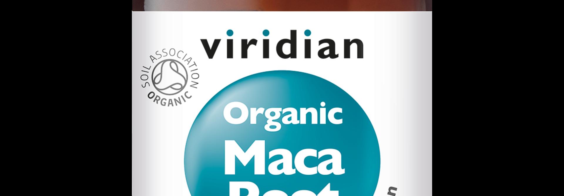 Organic Maca Root 60 plantaardige capsules