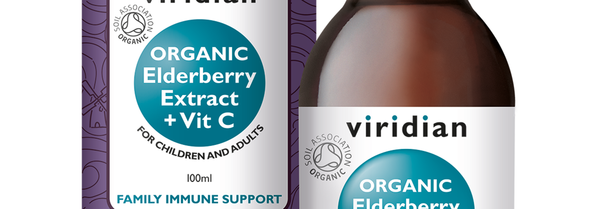 Organic Elderberry Extract with Vitamin C 100 druppels