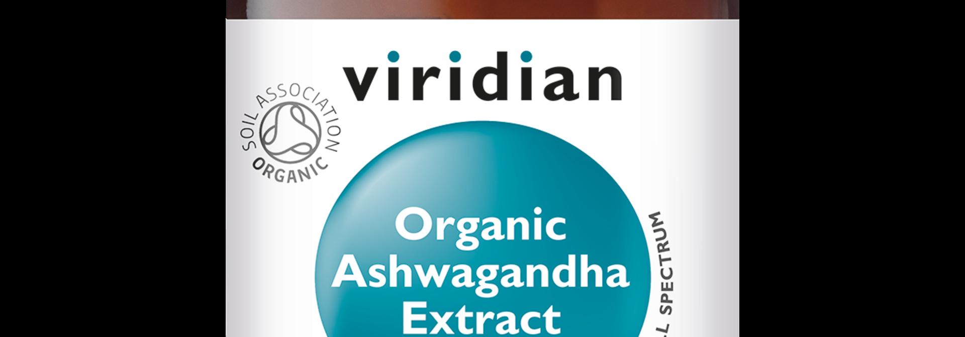 Organic Ashwagandha Extract 60 plantaardige capsules