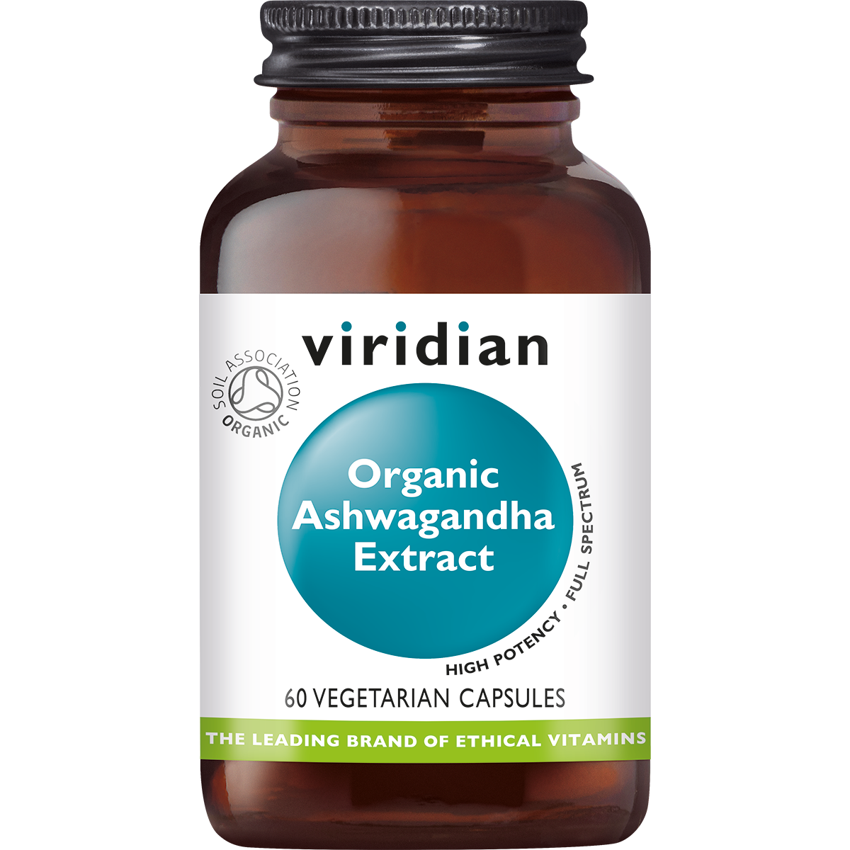 Organic Ashwagandha Extract 60 plantaardige capsules-1