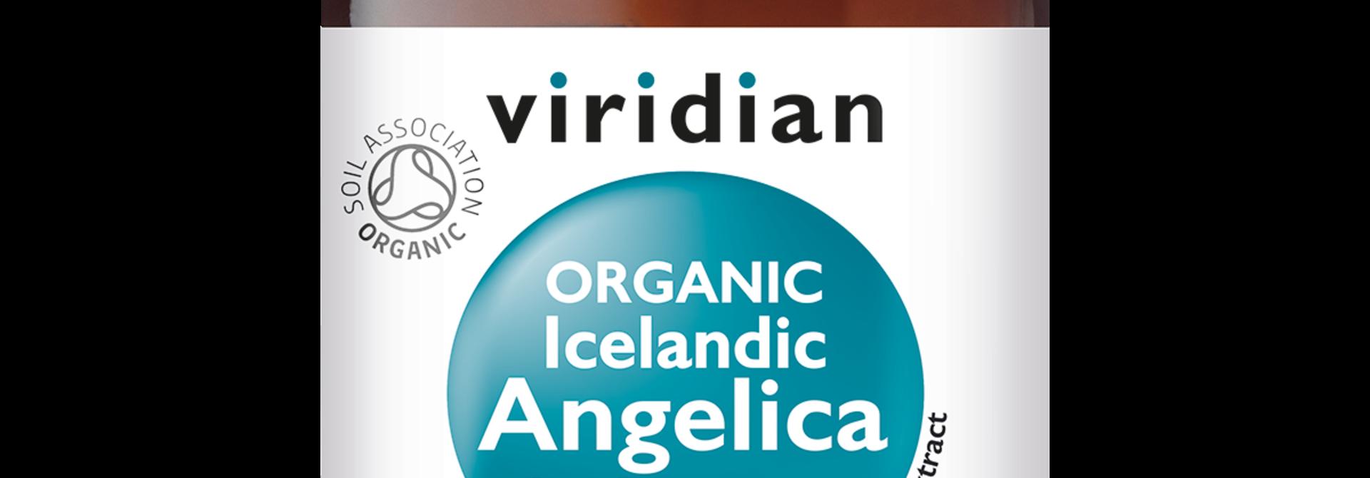 Organic Icelandic Angelica Leaf Extract 30 plantaardige capsules