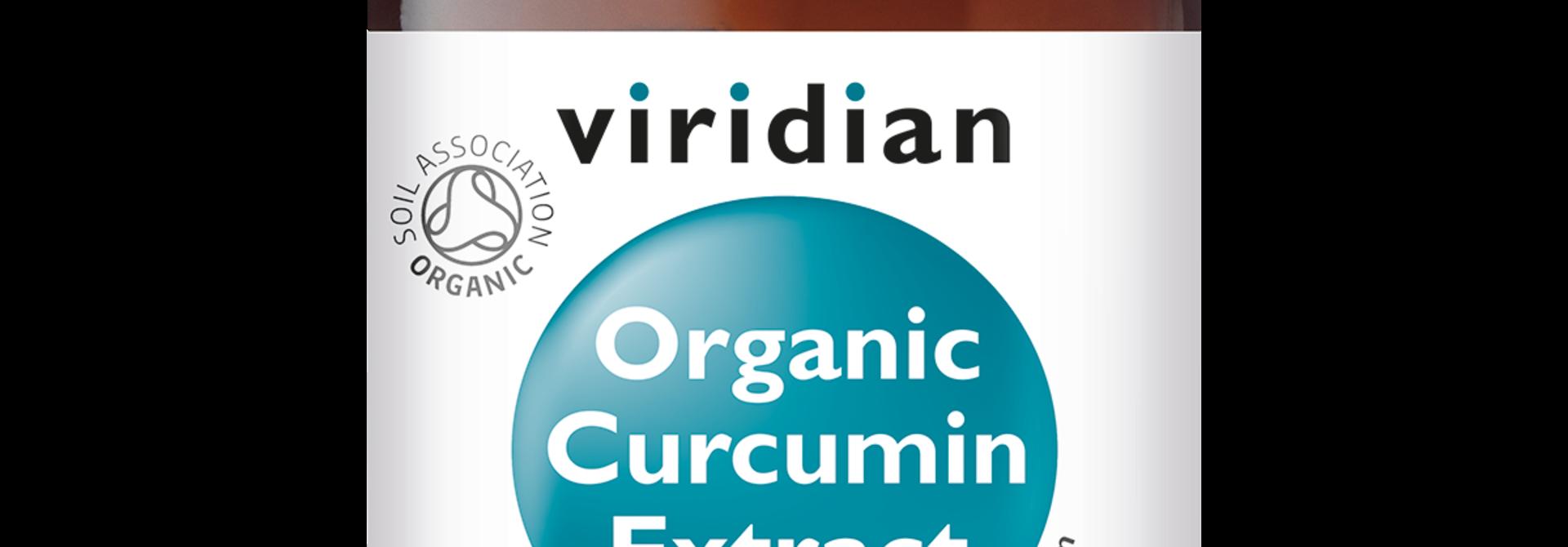 Organic Curcumin Extract 60 plantaardige capsules