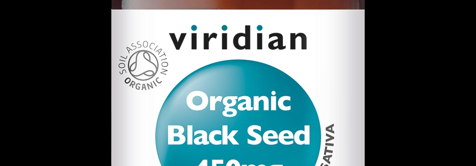 Organic Black Seed 90 plantaardige capsules