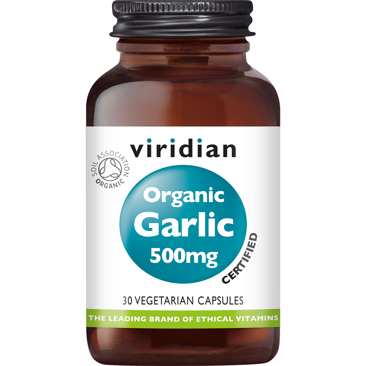 Organic Garlic 30 plantaardige capsules-1