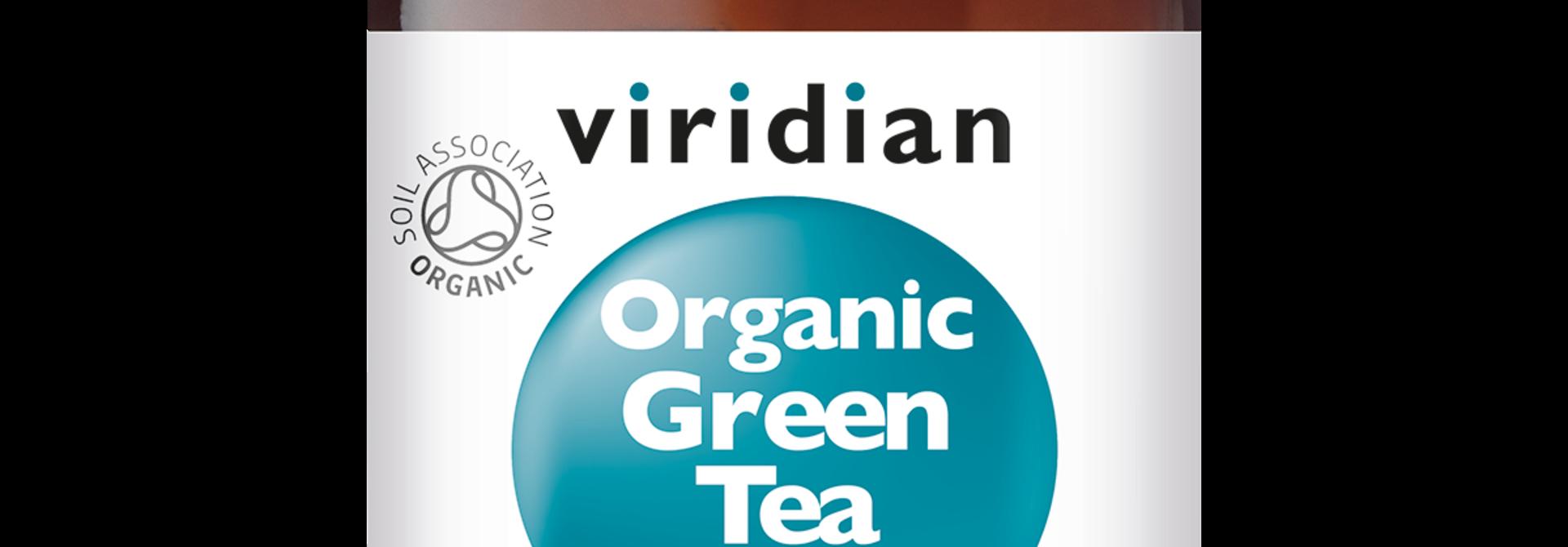 Organic Green Tea Leaf 30 plantaardige capsules