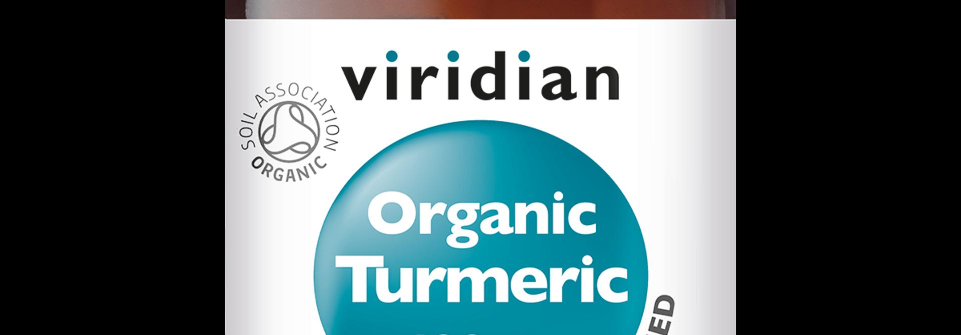 Organic Turmeric 90 plantaardige capsules